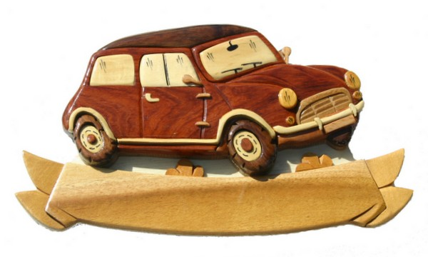 figurines en bois aux essences naturelles plaque de porte en bois voiture mini site de. Black Bedroom Furniture Sets. Home Design Ideas