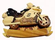 figurine en bois : goldwing